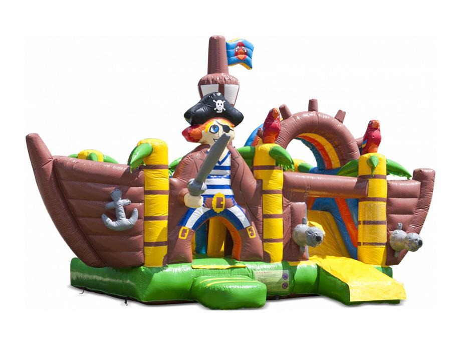 Springkasteel piratenboot
